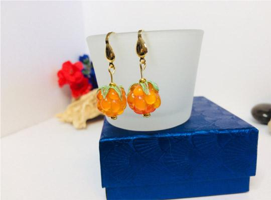 bakeapple earrings