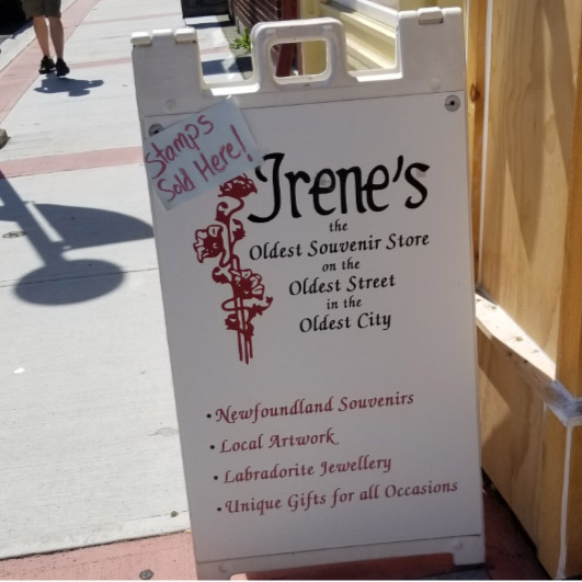Irene's Gifts and Souvenirs has seen a lot of change in downtown over the years!