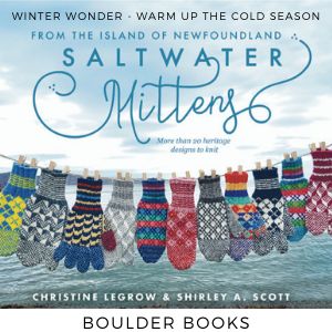 Saltwater Mittens from Boulder Books