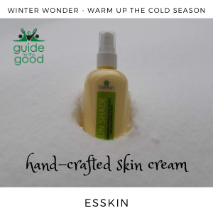 hand-crafted skin cream from Esskin