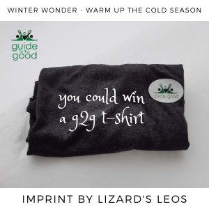 g2g t-shirt, imprinted by Lizard's Leos